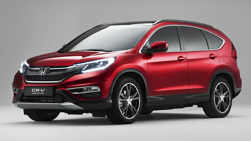 British Honda CR-V looks tough, gets diesel and 9-speed auto