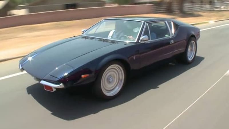Jay Leno is far beyond driven in his 1971 Pantera Autoblog