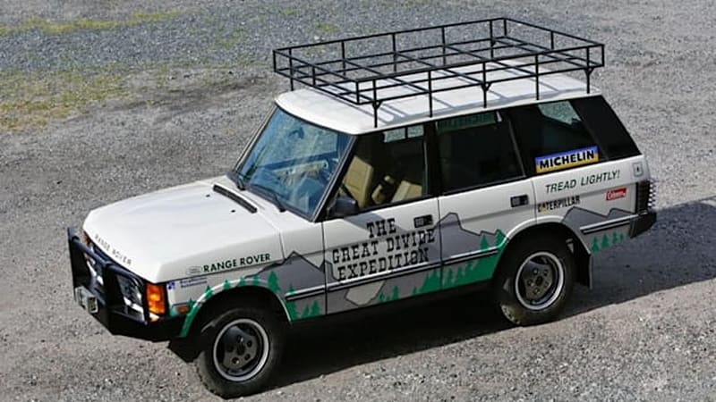 eBay Find Of The Day: 1990 Range Rover Great Divide Expedition replica for charity [w/videos]