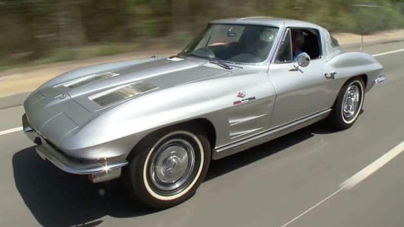 Jay Leno Puts A Classic Corvette Stingray Under The Lens