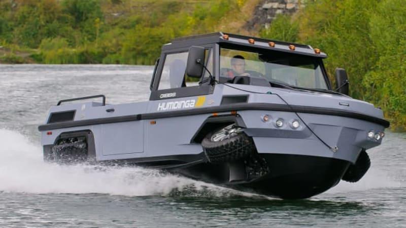 Gibbs To Build Humdinga Amphibious Truck In Asia To Help