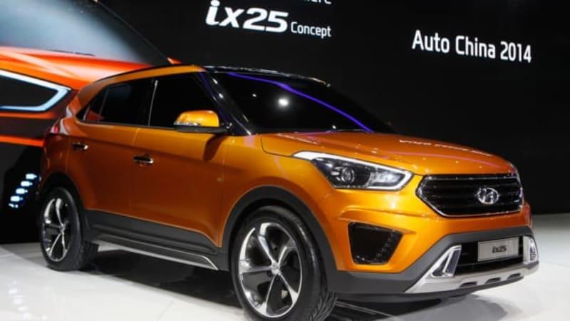 Hyundai Certified Pre Owned >> Hyundai ix25 Concept foreshadows B-segment CUV - Autoblog