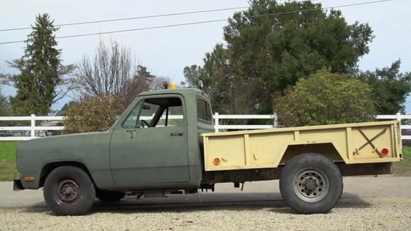 How to turn a Dodge airport tug into a trail slayer