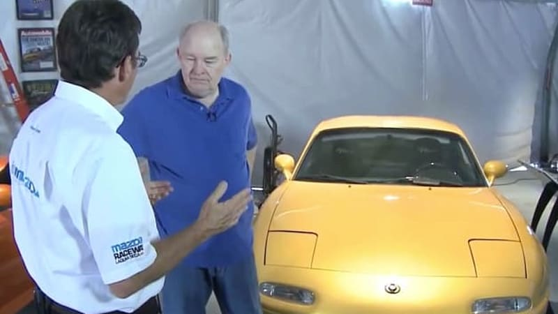 Mazda Miata 'fathers' Hall and Case offer a tour through the roadster's history