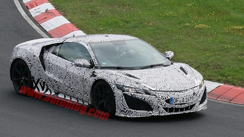 2016 Acura NSX aimed at Ferrari 458 for the price of Audi R8