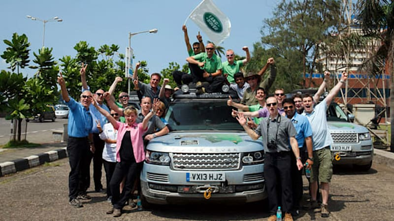 Land Rover's Silk Road journey is world's first hybrid expedition [w/video]