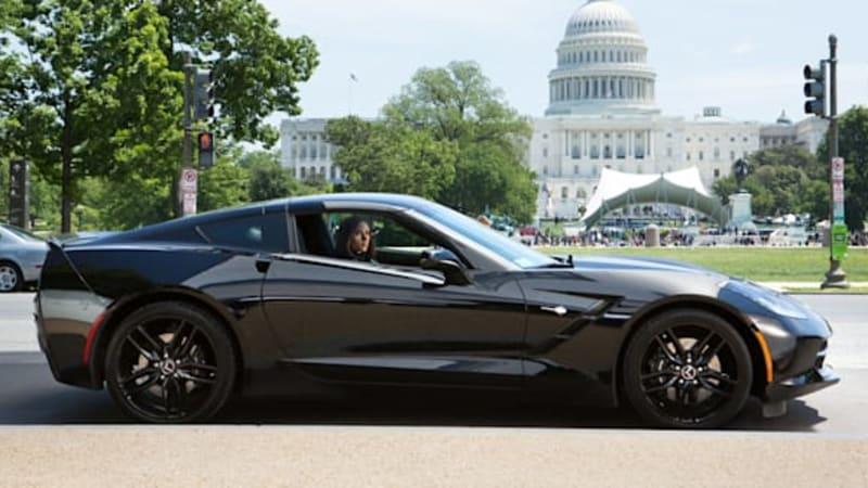 Black Widow's Corvette from next Captain America movie is ...