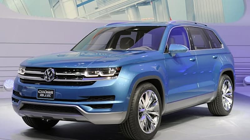 VW readying two-row CUV concept for Detroit