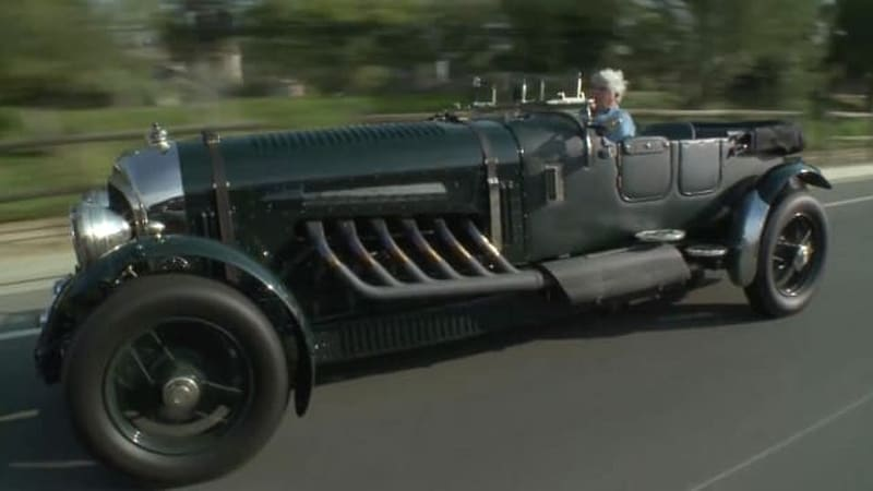 Jay Leno's 1930 Bentley GJ 400 is a 27-liter monster