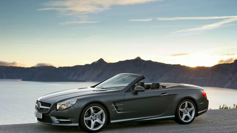 2014 Mercedes SL and SLK add small expansion to Takata airbag recall