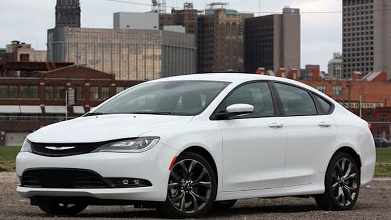 2015 Chrysler 200 earns Top Safety Pick+ [w/video]