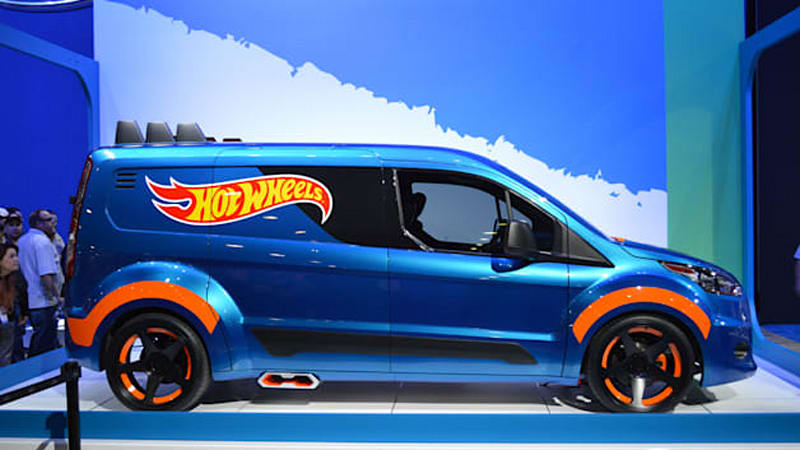 Hot Wheels Ford Transit Connect Is Worth More If We Keep