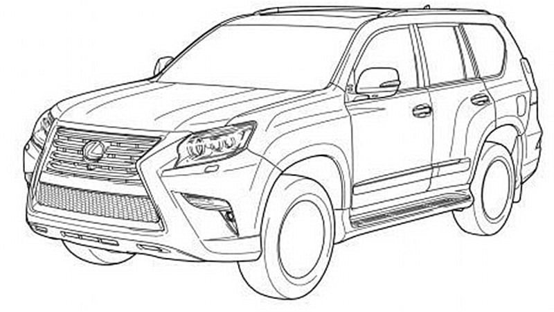 lexus gx toyota land cruiser prado facelifts leaked With clic toyota land cruiser sale