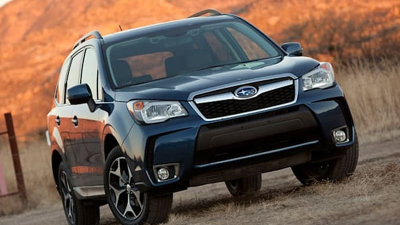 Subaru Forester Named Motor Trend 2014 Suv Of The Year W