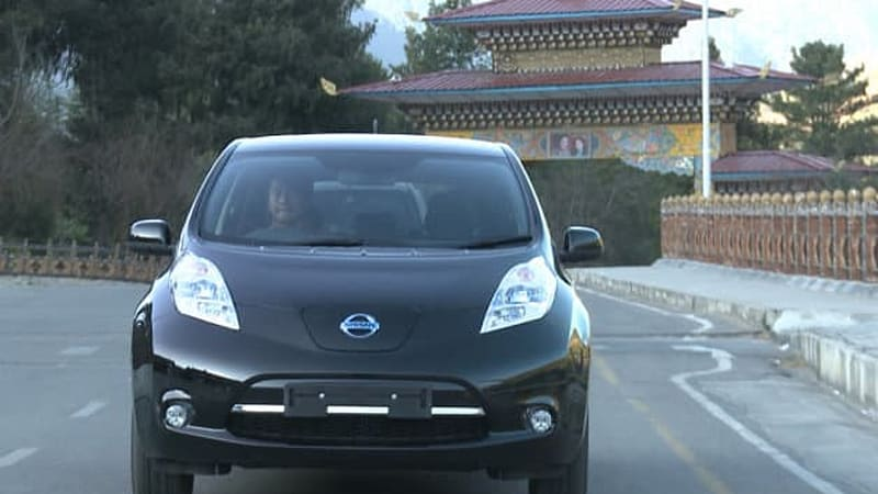 Bhutan asks Nissan, Mitsubishi for help with massive EV-only plan