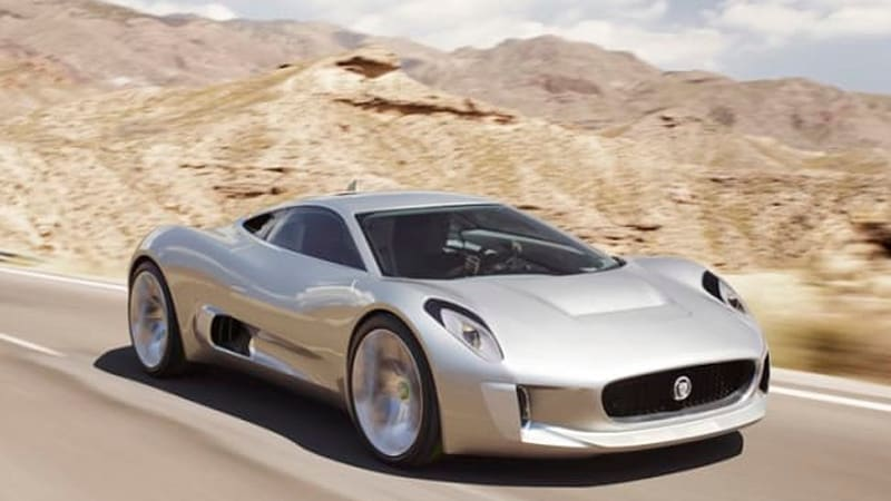 James Bond Spectre villain to drive never-was Jaguar C-X75 supercar