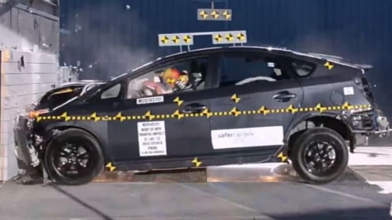 Toyota prius test 2014