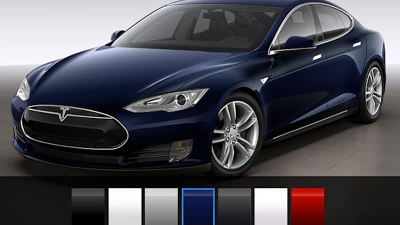 Tesla Model S Paint Colours