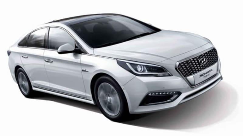 Hyundai reveals new Sonata Hybrid in Seoul