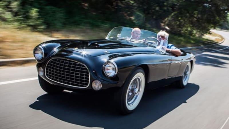 Leno drives Henry Ford II's all-original '52 Ferrari 212 ...