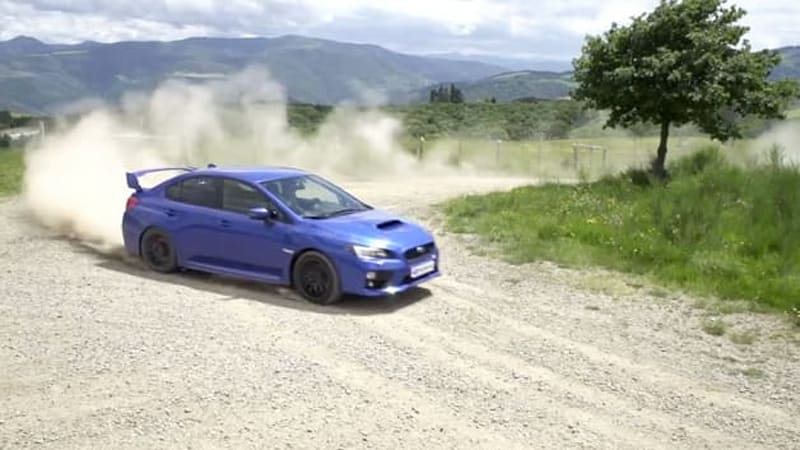 Subaru WRX STI gets all gymkhana slidey in new European ad