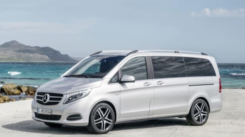 Mercedes Debuts New V Class Van Autoblog