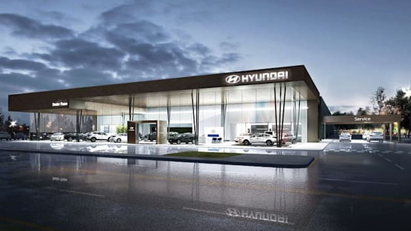 Hyundai Dealerships Getting Global Makeover Autoblog
