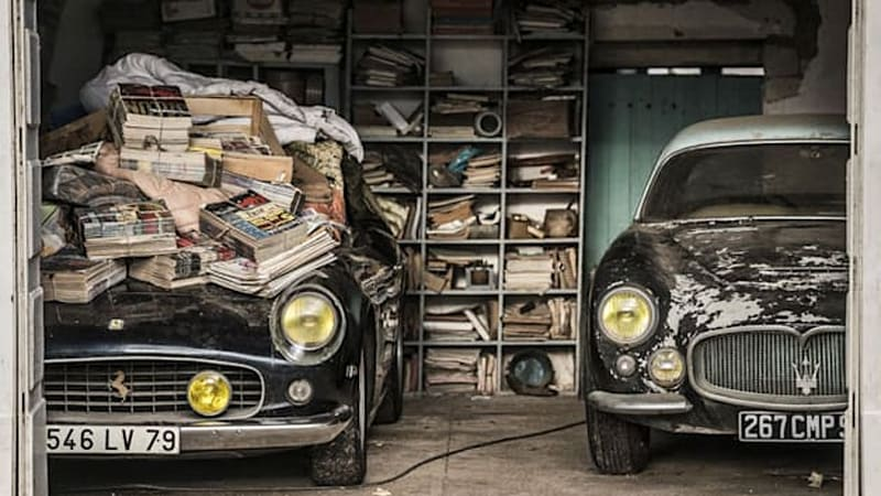 Incredible French barn finds could fetch over $18M [w/video]