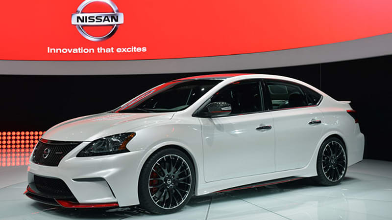 Nissan Sentra gets mean with 240-hp Nismo concept - Autoblog