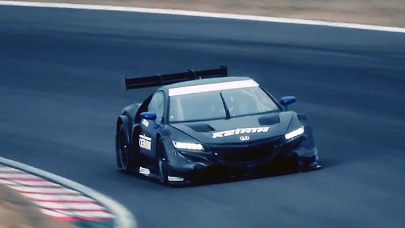 Improve your weekend with this Honda NSX Concept-GT racing film