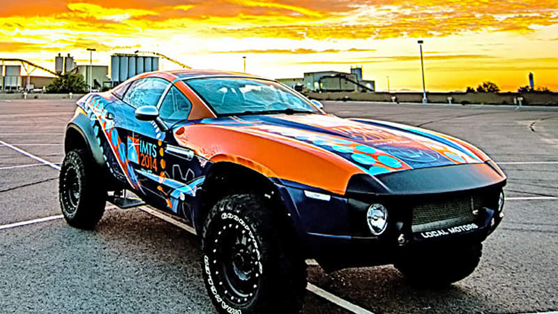 Local motors will 3d print an ev live in chicago in for Local motors rally fighter for sale