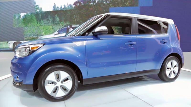 A closer look at the 2015 Kia Soul EV