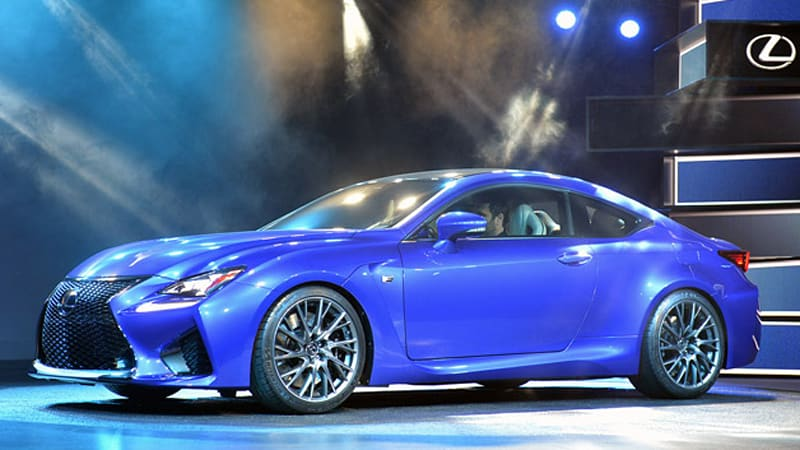 Lexus Certified Pre Owned >> Lexus RC F is a predatory sport coupe with a 450-horsepower beating heart - Autoblog