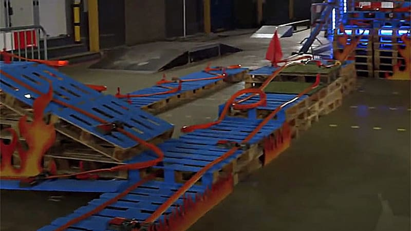 Hot Wheels Race Car Track Video