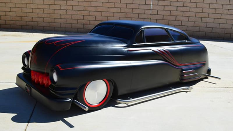 cruisin caskets offers a lead sled for the dead w video. Black Bedroom Furniture Sets. Home Design Ideas