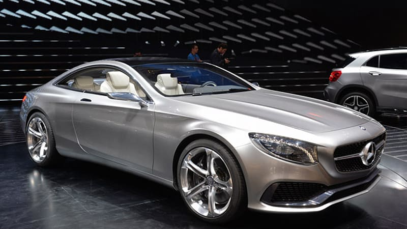 MERCEDES BENZ S-Class Coupe (C217) - 2014, 2015, 2016, 2017 ...