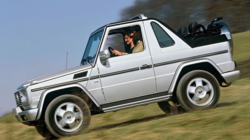 Say goodbye to the mercedes g class convertible autoblog for Mercedes benz g class cabriolet for sale
