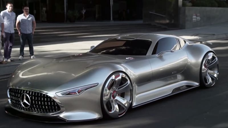 How mercedes made the amg vision gt for a game and reality for Mercedes benz amg vision gt