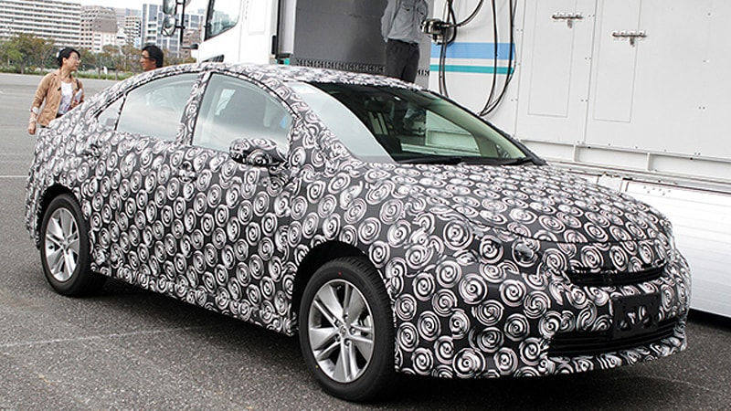 2015 Toyota fuel cell hydrogen vehicle prototype