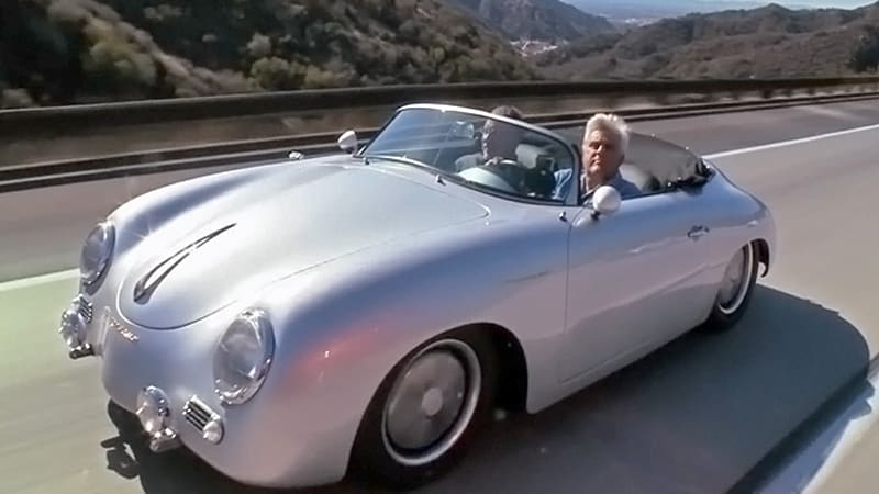 Jay Leno Welcomes Finely Rebuilt Porsche 356 Into His