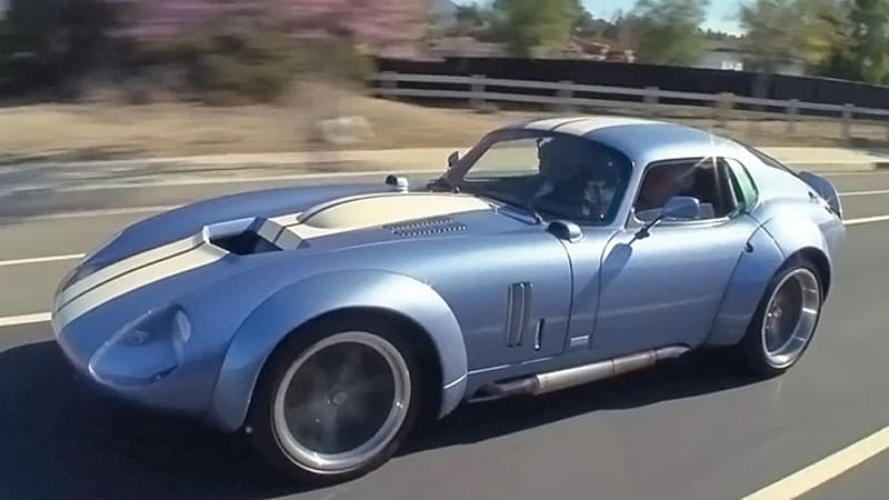 This Shelby Brock Daytona Coupe Takes Jay Leno For A Ride