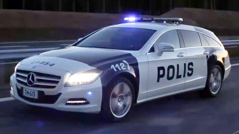 Finnish Police Get A Mercedes Cls Shooting Brake Autoblog