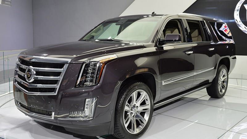 2015 cadillac escalade on sale in april priced at 71 695 autoblog. Black Bedroom Furniture Sets. Home Design Ideas
