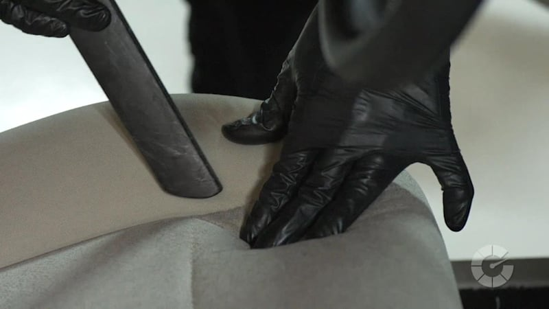 how to clean cloth car seats autoblog details. Black Bedroom Furniture Sets. Home Design Ideas