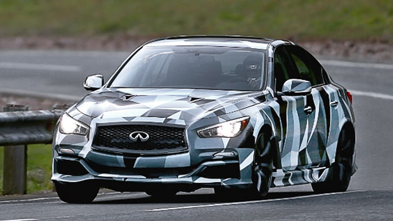 Infiniti all but certain to produce Q50 Eau Rouge [w/video]