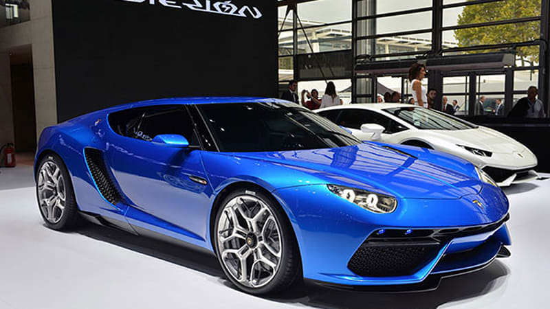 Lamborghini Asterion could still see showrooms