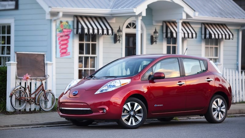 Nissan edges out Tesla for most ZEV credits sold in California