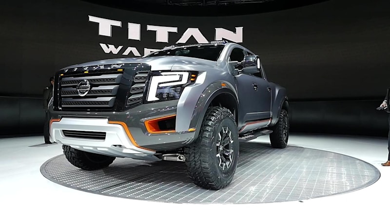 Nissan Titan Warrior Concept looks ready to pick a fight