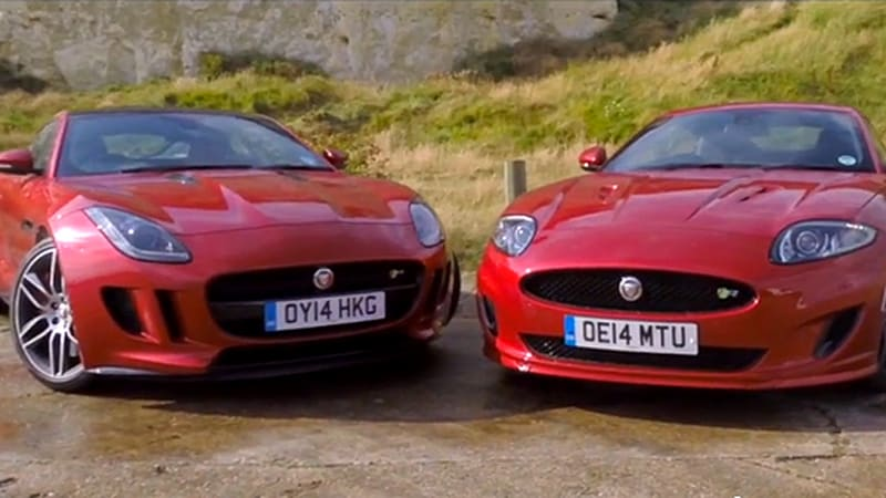 Jaguar XK and F-Type meet for final sibling faceoff