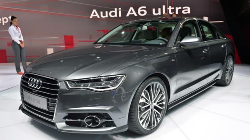 2015 Audi A6 spiffs up for Paris Motor Show duty - Autoblog
